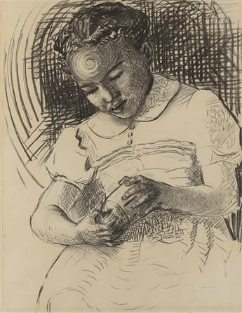 JAMES A. PORTER (1905 - 1970) The Piggy Bank.