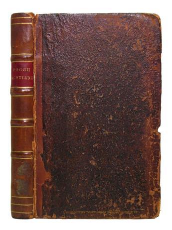 BRACCIOLINI-POGGIO;-and-LUCIAN-of-Samosata-Facetiarum-liber-Accessit-Lucii----comoedia----quae-Asinus-intitulantur--1592