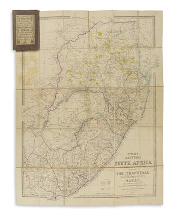 (AFRICA -- GOLD MINING.) Wyld, James. Wyld's Easte