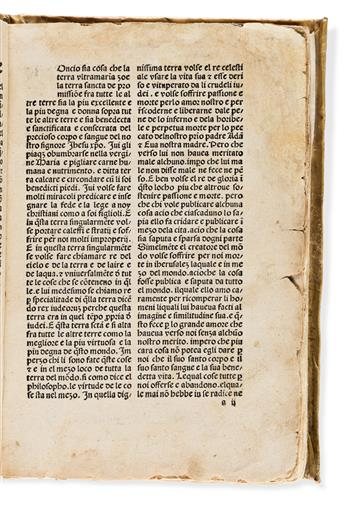 Mandeville, Jean de (fl. circa 1350-1370) Itinerar