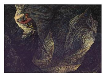 PAUL RABUT. Cave Excavation.