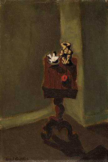 ADOLPH-GOTTLIEB-Untitled-(Interior-with-a-Table)