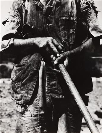 DOROTHEA LANGE (1895-1965) Hoe Culture, Alabama Tenant Farmer near Anniston.