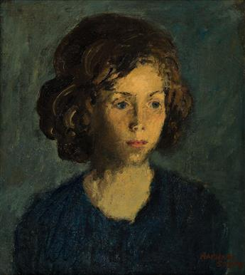 RAPHAEL SOYER Portrait of Mary.