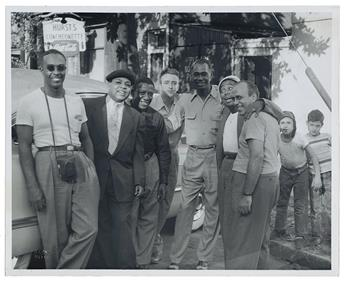 (MUSIC.) Archive of the famous singing group The Ink Spots, kept by member Charlie Fuqua.