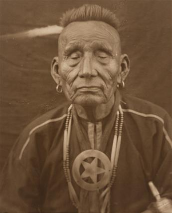 (AMERICAN INDIANS--PHOTOGRAPHS.) Group of 5 early 20th-century photographs.