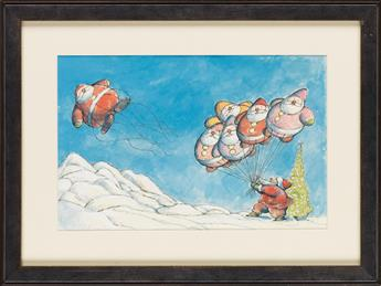 (CHILDRENS)-ARNOLD-LOBEL-The-Balloonman-of-the-North-Pole