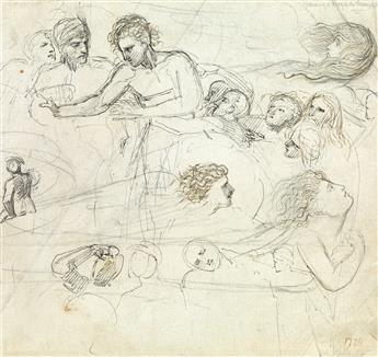 THOMAS-STOTHARD-(London-1755-1834-London)-Group-of-8-pen-and