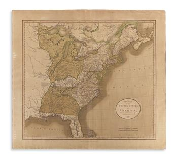 CARY, JOHN. A New Map of the United States of Amer