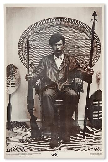 (BLACK PANTHERS.) NEWTON, HUEY P. The Racist Dog Policemen Must Withdraw Immediately From Our Communities.