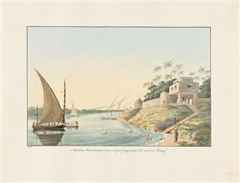 Smith, Charles Hamilton (1776-1859) Views in Northern Africa, a Collection of Watercolor Drawings.