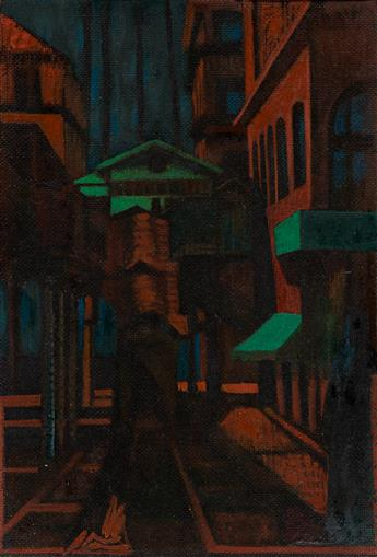FRANCIS CRISS (1901 - 1973, AMERICAN) Untitled, (El Train).