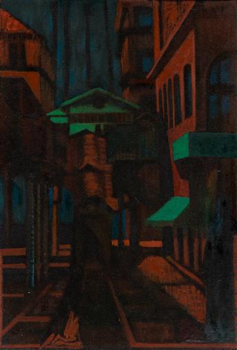 FRANCIS CRISS (1901 - 1973, AMERICAN) Untitled, (El Train).