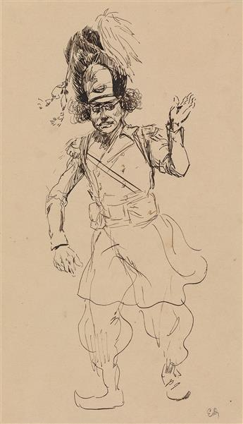 ÉDOUARD-DETAILLE-(Paris-1848-1912-Paris)-Group-of-5-drawings