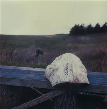 ROBERT-FRANK-(1924-2019)-A-bench-and-the-sea-Nova-Scotia