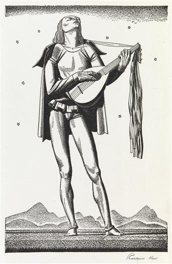 ROCKWELL-KENT-(after)-Forty-Drawings-to-Illustrate-the-Works
