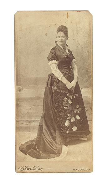 (EDUCATION--BROWN-HALLIE-Q)-Photographic-card-of-California-