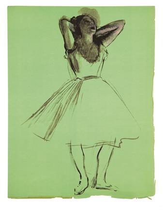 (DEGAS, EDGAR.) Valéry, Paul. Degas Danse Dessin.