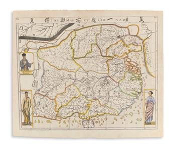 PURCHAS, SAMUEL. The Map of China.