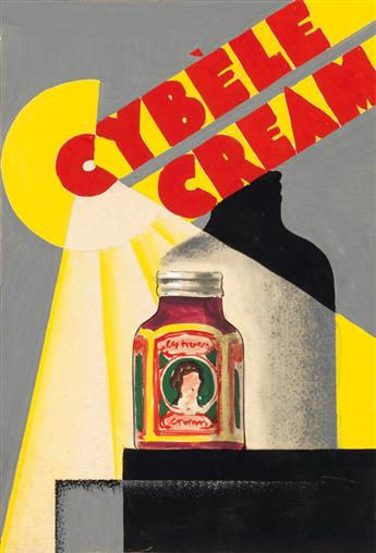 (ADVERTISING)-Group-of-7-French-poster-maquettes