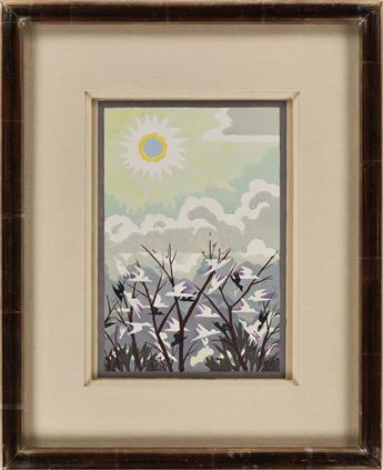 CHARLES-BURCHFIELD-Untitled-(Harmony-in-Nature)