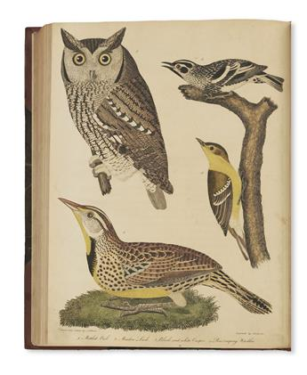 WILSON, ALEXANDER. American Ornithology; or the Natural History of the Birds of the United States.