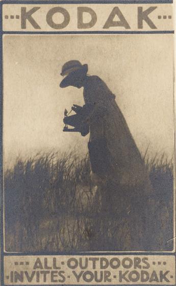 KARL STRUSS (1886-1981) All Outdoors Invites Your Kodak.