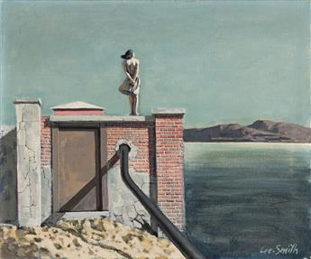 HUGHIE LEE-SMITH (1915 - 1999, AMERICAN) Pumping Station.