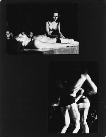(CAROLEE-SCHNEEMANN)-Book-maquette-entitled-Meat-Joy-A-Happe