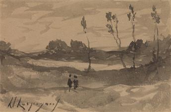 HENRI-JOSEPH-HARPIGNIES-(Valenciennes-1819-1916-Saint-Privé)