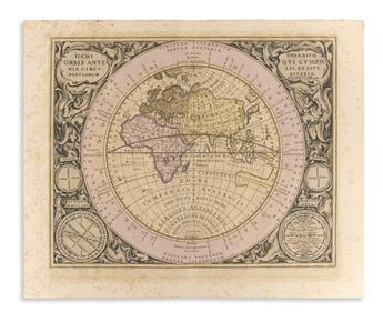 (CELESTIAL.) Cellarius, Andreas. Hemisphaerium Orb
