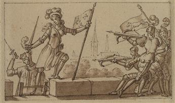 CHARLES-ABRAHAM-CHASSELAT-(Paris-1782-1843-Paris)-Group-of-1