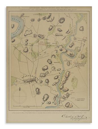 (CIVIL-WAR)-Sholl-Charles-Gettysburg-and-Vicinity;-and-Antie