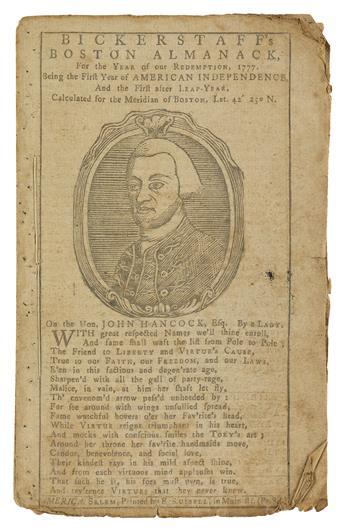 (ALMANACS)-Large-collection-of-early-American-almanacs