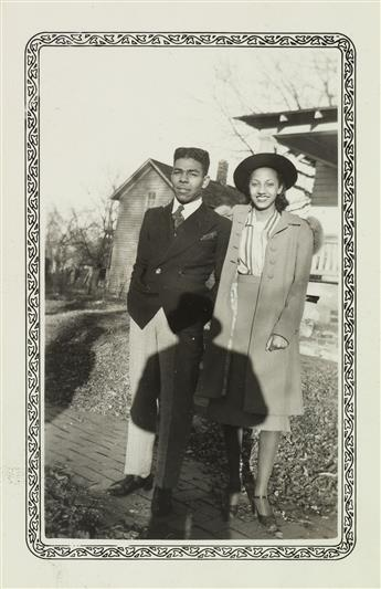 (AFRICAN-AMERICANS--TOPEKA-KANSAS)-A-set-of-approximately-50