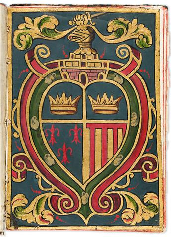 (MEXICAN-MANUSCRIPTS)-Manuscript-confirmation-of-arms-and-no