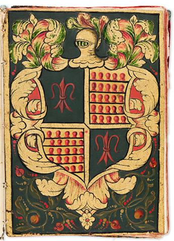 (MEXICAN-MANUSCRIPTS)-Manuscript-confirmation-of-arms-and-nobility-in-favor-of-the-Esquivel-y-Vargas-family