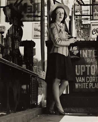SID GROSSMAN (1913-1955) 23rd Street (prostitute by the IRT).