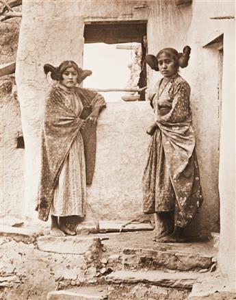 FREDERICK-MONSEN-(1865-1929)-Group-of-4-photographs-of-Nativ