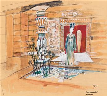 TOM H. JOHN (20th century) Color Me Barbra. [TELEVISION / SET DESIGN / BARBRA STREISAND]