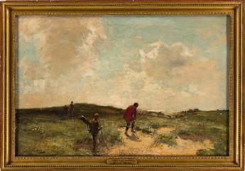 MICHAEL BROWN (1854-1957) Leven Links. [GOLF / SCOTLAND]