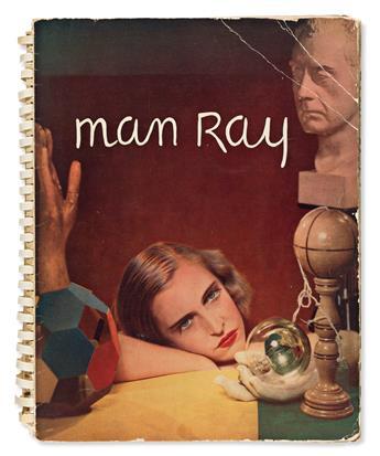 RAY, MAN. Man Ray Photographs 1920-1934 Paris.