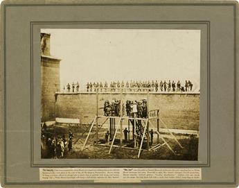 (ALEXANDER-GARDNER)-(1821-1882)-Suite-of-3-photographs-docum