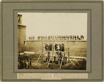 (ALEXANDER-GARDNER)-(1821-1882)-Suite-of-3-photographs-docum