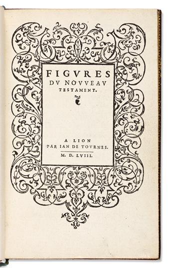 Fontaine, Charles (b. 1514) Figures du Nouveau Testament.