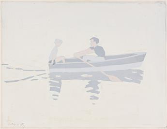 ALEX KATZ Rowboat.
