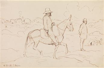 PAUL-JEAN-FLANDRIN-(Lyon-1811-1902-Paris)-Collection-of-20-p