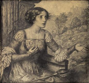 WLADYSLAW THEODOR BENDA. Fair Maiden.