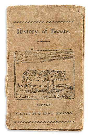 (CHILDRENS BOOKS.) Group of 5 early American chapbooks.