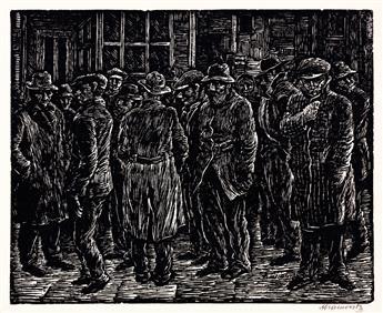 ALBERT ABRAMOVITZ (1879-1963) Job Wanted.